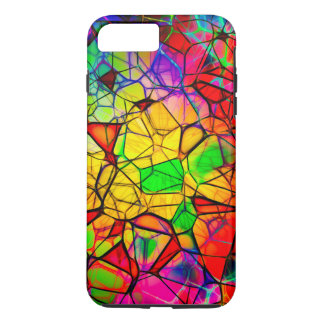 Stained Glass Design iPhone 7 Plus, Tough Case-Mate iPhone Case