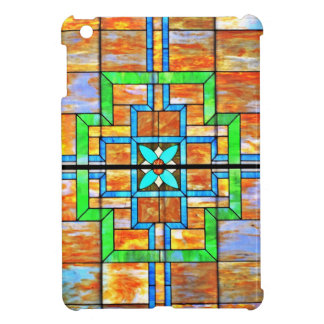 Stained glass detail cover for the iPad mini