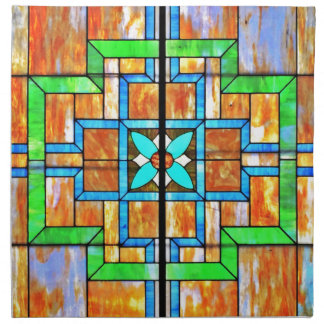 Stained glass detail napkin