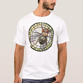 Stained glass drosophila (fruit fly) T-Shirt