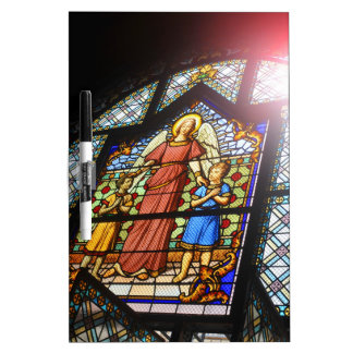 Stained glass dry erase boards