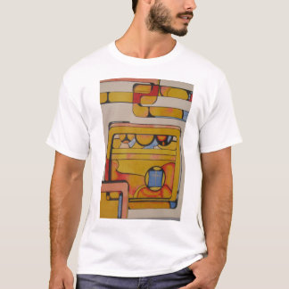 """""""Stained Glass for Duchamp"""" T-Shirt"""
