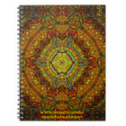 Stained-Glass-Gas-Ring-Mandala Notebook