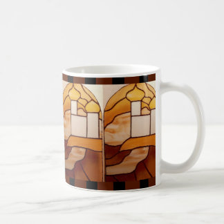 Stained Glass Gold Palace CricketDiane Arabian Coffee Mug