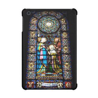 stained glass in montserrat iPad mini case