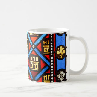 Stained glass in Sainte Chapelle in Paris Coffee Mug