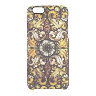 Stained Glass iPhone 6/6S Clear Case