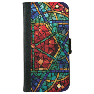 "Stained Glass iPhone 6 Wallet Case ""Blessing"""