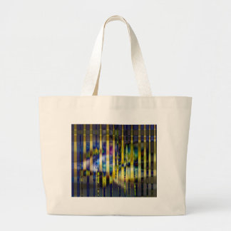 Stained Glass Large Tote Bag