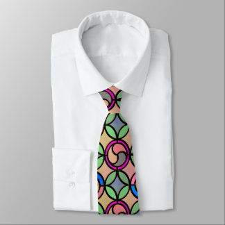 Stained Glass Look Tie