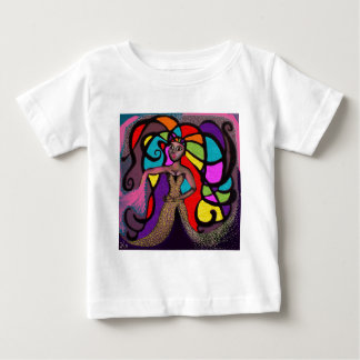Stained Glass Mandy. Baby T-Shirt