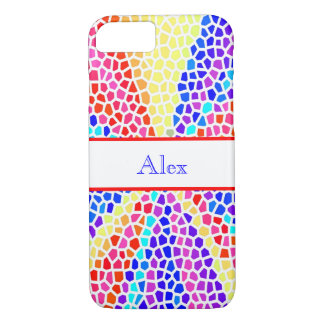 Stained Glass Monogram iPhone 8/7 Case