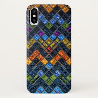 Stained Glass Mosaic Pattern Case-Mate iPhone Case
