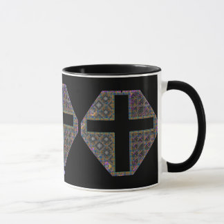 Stained Glass Mug in Triplicate