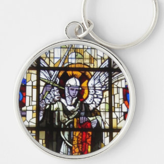 Stained Glass Mural Keychain