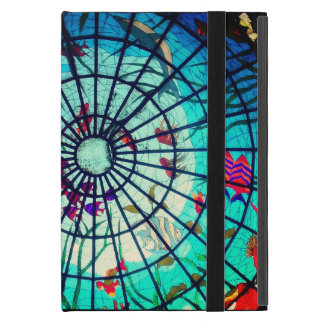 Stained glass ocean life mini ipad case