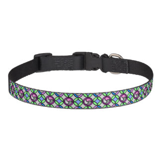 Stained Glass Pattern Dog or Cat Collar