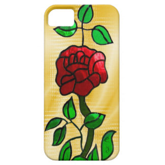 Stained glass Rose iPhone 5 Case