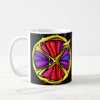 Stained Glass Sagittarius Coffee Mug