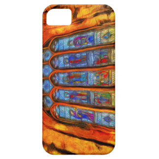 Stained Glass Van Gogh Case For The iPhone 5