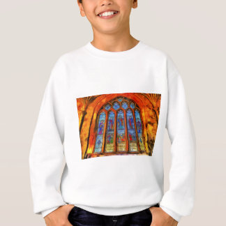 Stained Glass Van Gogh Sweatshirt