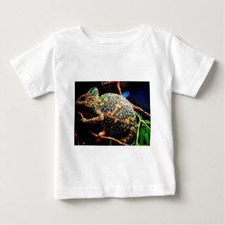 Stained glass veiled chameleon baby T-Shirt