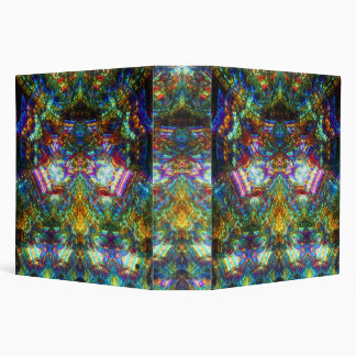 Stained Glass Window 3 Ring Binder