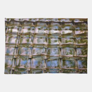 Stained Glass Window Blocks Kitchen Towel
