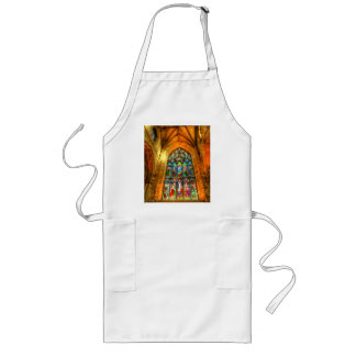 Stained Glass Window Long Apron
