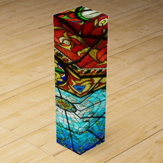 Stained Glass Wine Gift Box