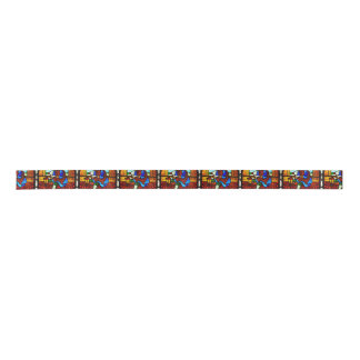 Stained Glass Worker Satin Ribbon