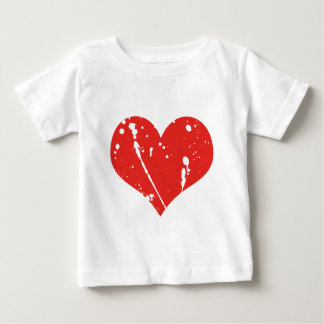 Stained Heart Baby T-Shirt