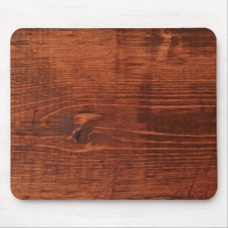Stained Wood Look Mousepad