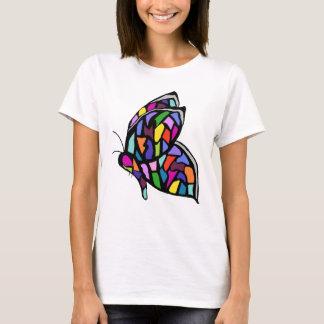 stainglass butterfly shirt
