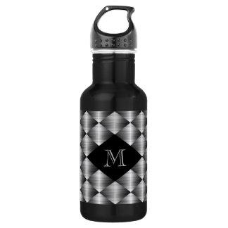 Stainless 18 oz. Black 532 Ml Water Bottle