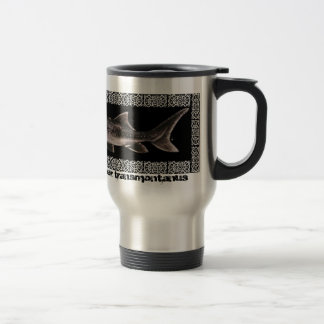 Stainless Coffee Mug - White Sturgeon