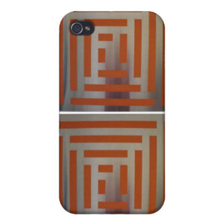 Stainless Maze iPhone 4/4S Covers
