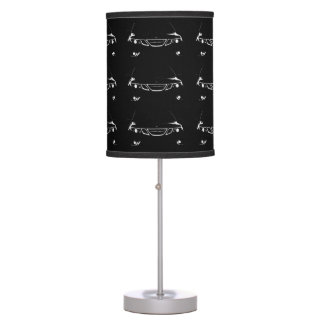 Stainless Saab Table Lamp
