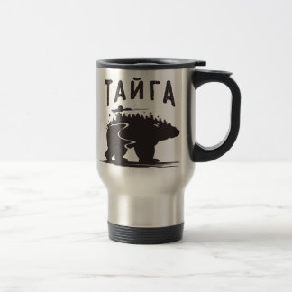 Stainless steel Тайга mug