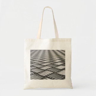Stainless Steel Abstract Pattern Tote Bag