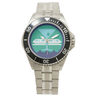 Stainless Steel Bay Lake Society Watch