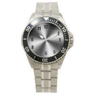 Stainless Steel-Divers Wristwatch