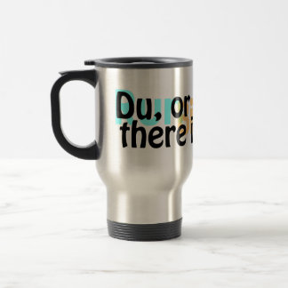 Stainless Steel Duathlon Travel Mug