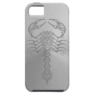 Stainless Steel Effect Tribal Scorpion iPhone 5 Cover