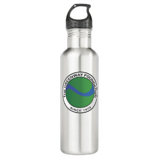 Stainless Steel Greenway Foundation Water Bottle