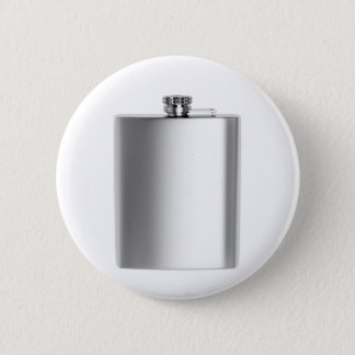 Stainless steel hip flask 2 inch round button