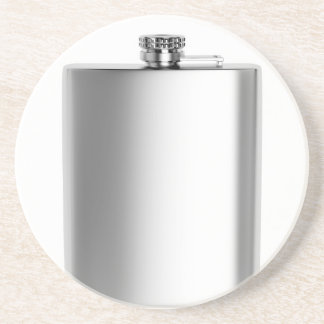 Stainless steel hip flask coaster
