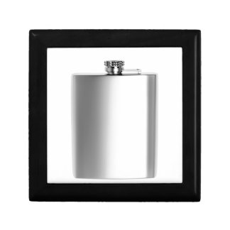 Stainless steel hip flask gift box