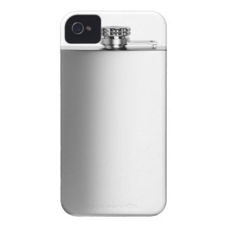Stainless steel hip flask iPhone 4 Case-Mate cases