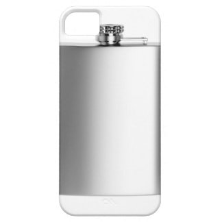 Stainless steel hip flask iPhone 5 cases